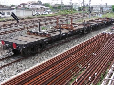 鉄道車両紹介 - 貨物列車