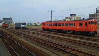 益田駅留置線